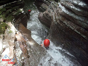 Canyoning Dolomiti Val Maggiore