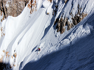 Freeride in Dolomites